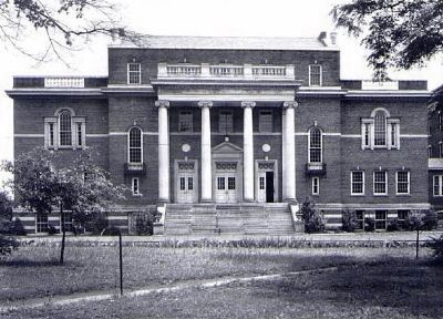 Greenville Woman&#39;s College -<br>Ramsey Fine Arts Building<br>Site of the Greenville Little Theater image. Click for full size.