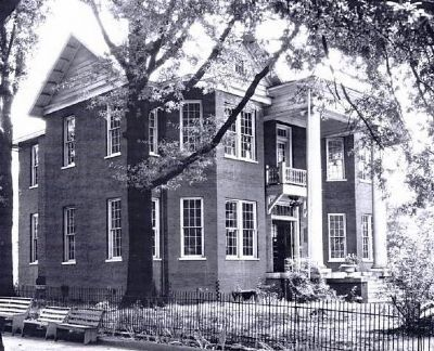 Greenville Woman&#39;s College -<br>College Library image. Click for full size.