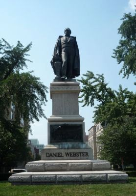 The Daniel Webster Memorial image. Click for full size.