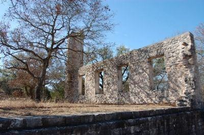 Thomas Arnold High School Ruins image. Click for full size.