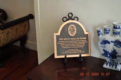 The Helen Keller Home ~At entrance of Hallway image. Click for full size.