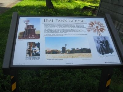 Leal Tank House Marker image. Click for full size.