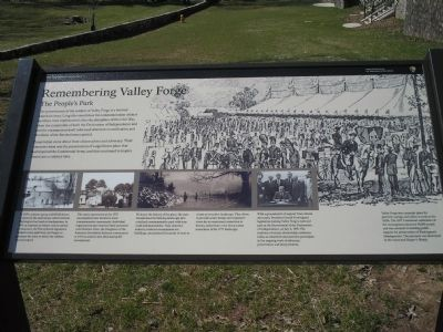 Remembering Valley Forge Marker image. Click for full size.