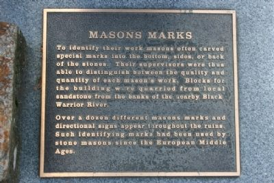 Masons Marks Marker image. Click for full size.
