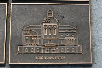 East Elevation of the Capitol Building. (The Architect Marker) image. Click for full size.
