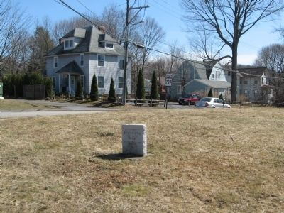 Site Of Birthplace Of Horace Bushnell Marker image. Click for full size.