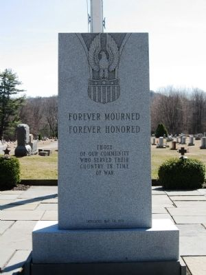 Forever Mourned Forever Honored Marker image. Click for full size.