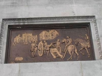 Relief on South Side of Monument image. Click for full size.