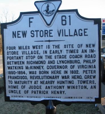 New Store Village Marker image. Click for full size.