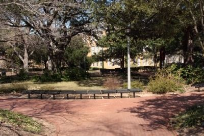 Center of Gibbes Green , seen today image. Click for full size.