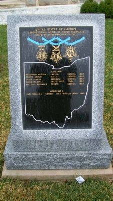 Congressional Medal of Honor Recipients Memorial image. Click for full size.