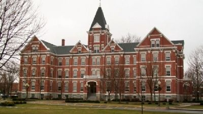 Findlay College's Old Main image. Click for full size.