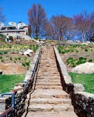 Staircase Leading from Falls Park<br>to the West End and Falls Cottage image. Click for full size.