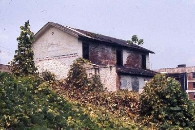 Pre-restoration Falls Cottage image. Click for full size.