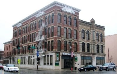 Outstanding Renovated Building and Marker image. Click for full size.