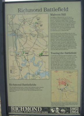 Richmond Battlefield Marker image. Click for full size.