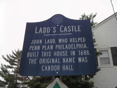 Ladd's Castle Marker image. Click for full size.
