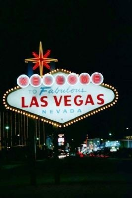 The Welcome To Las Vegas Sign image. Click for full size.
