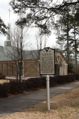 First Presbyterian Church of Aiken and Marker image. Click for full size.