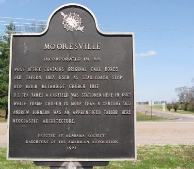 Mooresville Marker image. Click for full size.