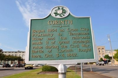 Corinth Historic Marker image. Click for full size.