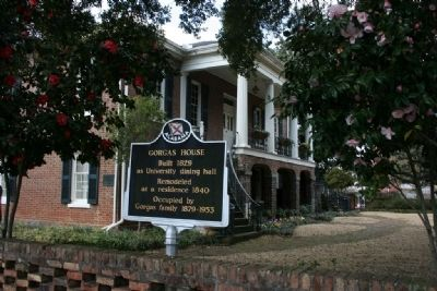 Gorgas House & Marker image. Click for full size.