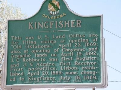 Kingfisher Marker image. Click for full size.