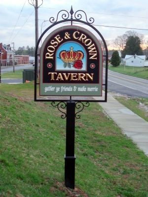 Rose & Crown Tavern image. Click for full size.