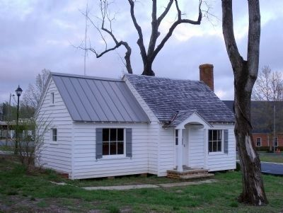 The smokehouse (rear view) image. Click for full size.
