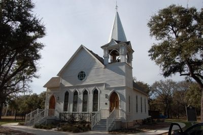 Salado United Methodist Church image. Click for full size.