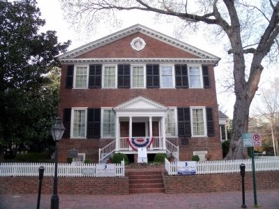 The John Marshall House image. Click for full size.