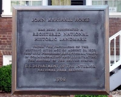 John Marshall House image. Click for full size.