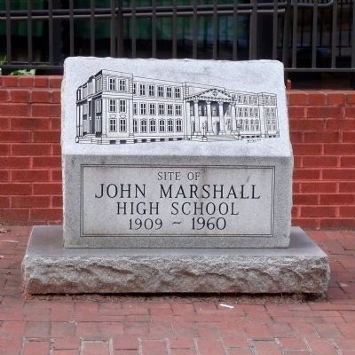 Adjacent site of John Marshall High School image. Click for full size.