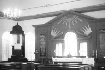 St. Stephen's Episcopal Church , interior image. Click for full size.