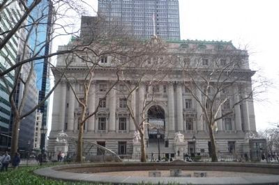 Alexander Hamilton U.S. Custom House National Historical Landmark image. Click for full size.