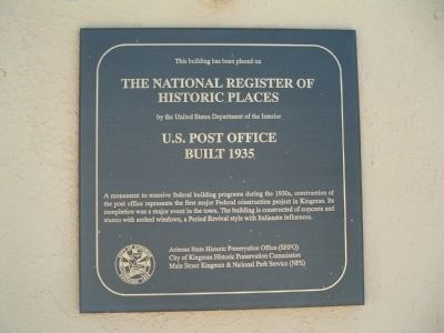 U. S. Post Office Marker image. Click for full size.
