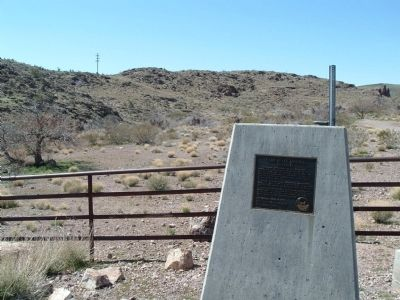Camp Beale Springs Arizona Marker image. Click for full size.
