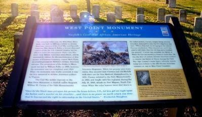 West Point Monument Marker image. Click for full size.