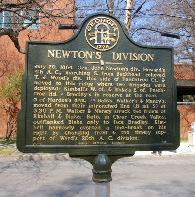 Newton's Division Marker image. Click for full size.