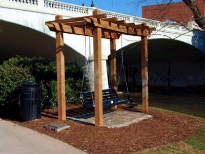 Riverwalk Dedication and Swing image. Click for full size.