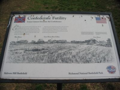 Confederate Futility Marker image. Click for full size.