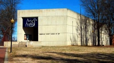 Greenville County Museum of Art<br>420 College Street image. Click for full size.