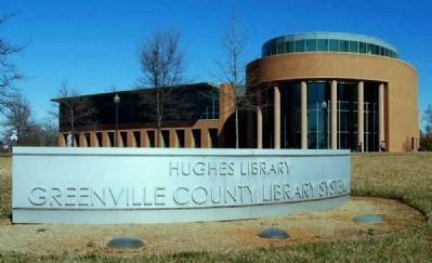 Hughes Branch<br>Greenville County Library System image. Click for full size.