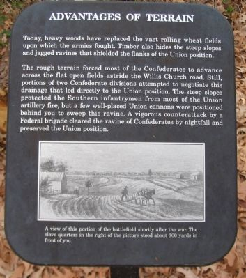 Advantages of Terrain Marker image. Click for full size.