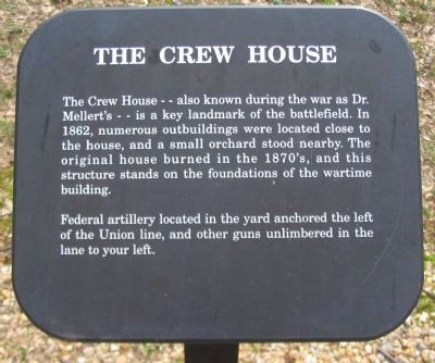 The Crew House Marker image. Click for full size.