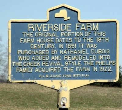 Riverside Farm Marker image. Click for full size.