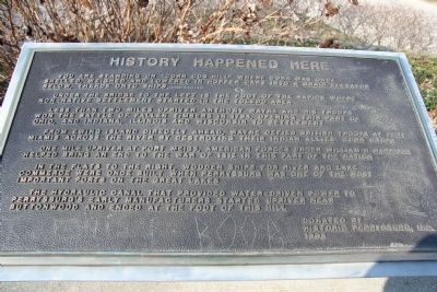 History Happened Here Marker image. Click for full size.