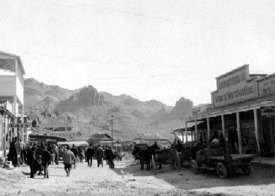 The Mining Town of Oatman image. Click for full size.
