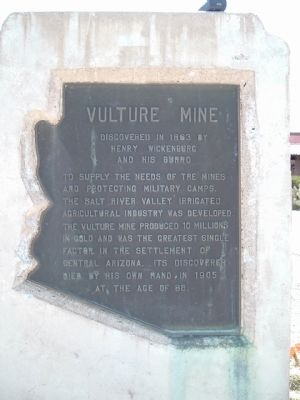 Vulture Mine Marker image. Click for full size.