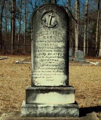 John Scott Tombstone image. Click for full size.